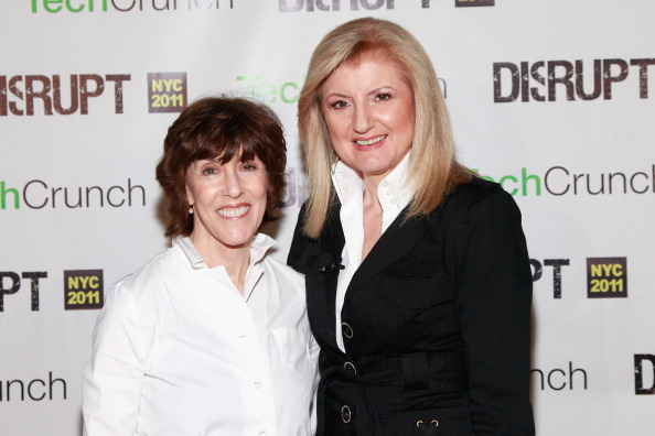Nora Ephron and Arianna Huffington