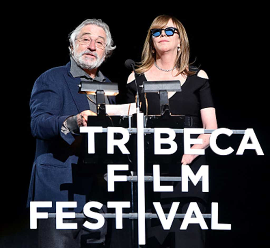 Jane with Robert DeNiro