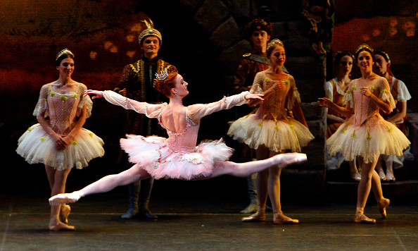 Gillian Murphy as Princess Aurora in ABT&rsquo;s <em>Sleeping Beauty.</em>