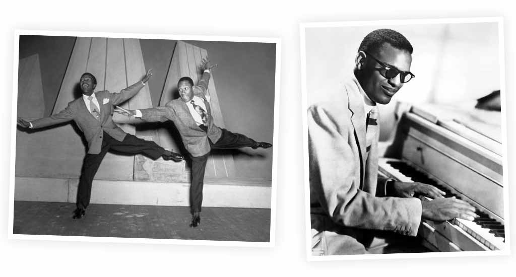 The Nicholas Brothers & Ray Charles.