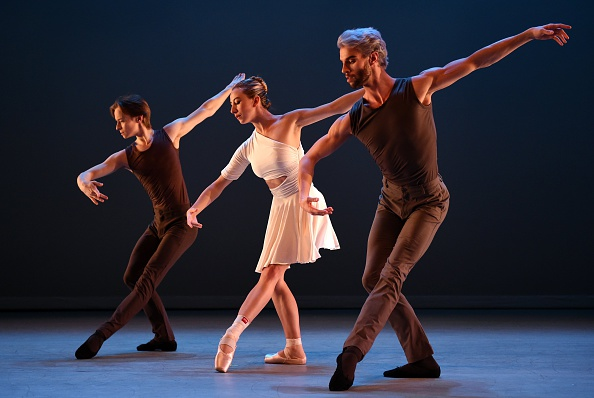 James Whiteside along with Isabella Boylston and Daniil Simkin at the Joyce.